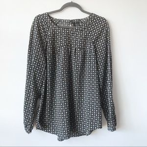Mango Casual Easy Care Blouse Size 10